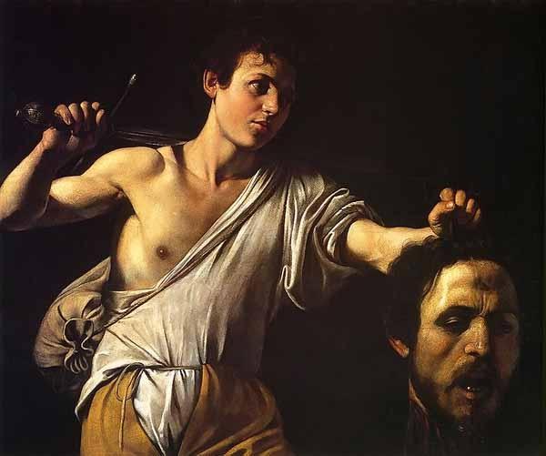 Davide con la testa di Golia di Caravaggio -1607